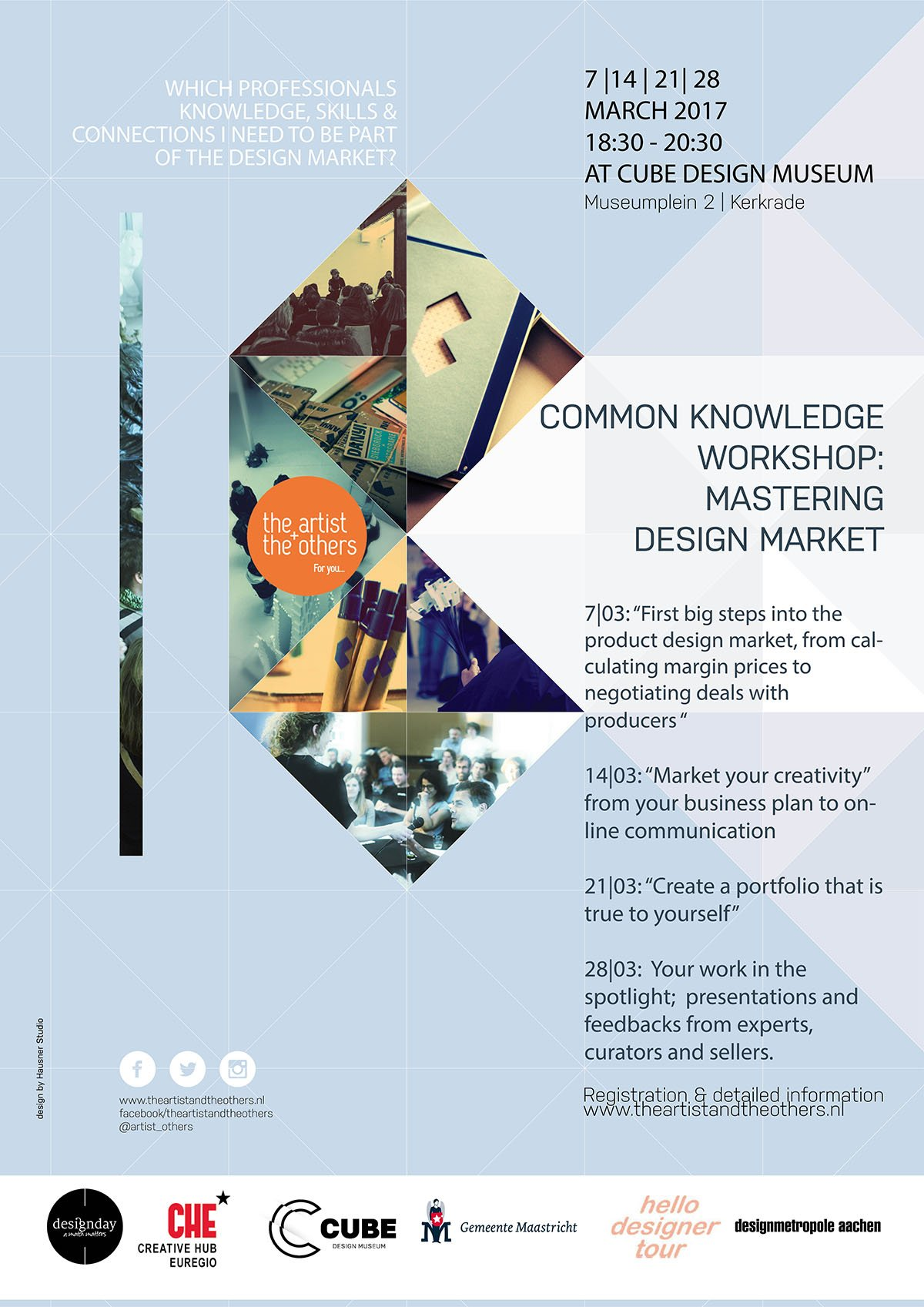Workshop: Mastering the design Market – Sign up!