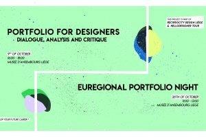 Workshop on Portfolio and Euregional portfolio night for designers