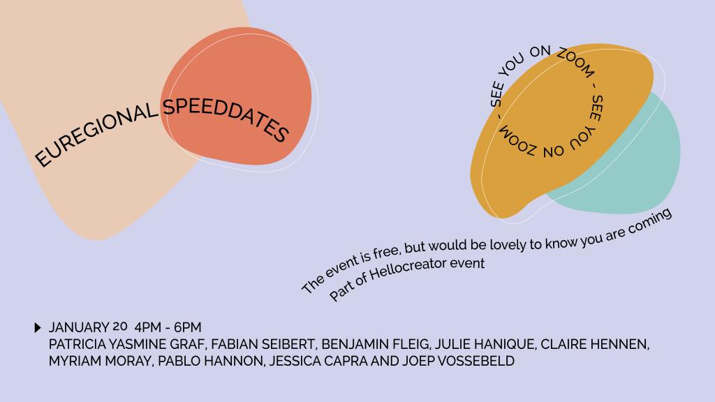 Creative Hub Euregio speed-dates